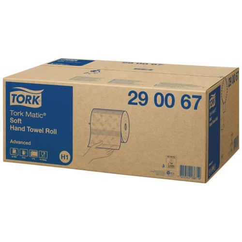 Tork Matic® miękki ręcznik w roli; EAN13: 7322540138719