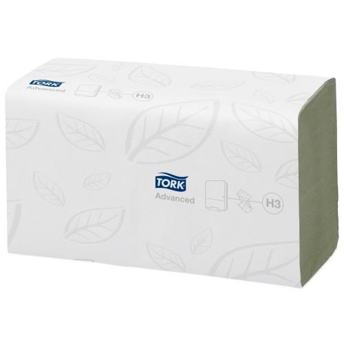 Tork Singlefold zielony ręcznik (w składce ZZ); EAN13: 7322540544800