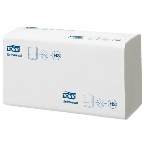 Tork Singlefold biały ręcznik (w składce ZZ); EAN13: 7322540544749