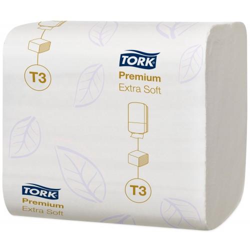 Tork Folded ekstra miękki papier toaletowy w składce; EAN13: 7310791199283