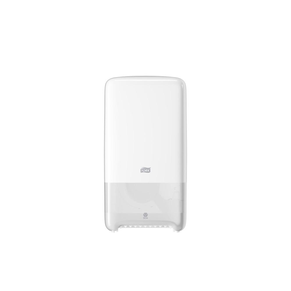 Dozownik Tork do papieru toaletowego Mid-size (z automatyczną zmianą rolek); EAN13: 7322540366730