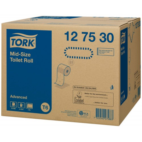 Tork Mid-size papier toaletowy