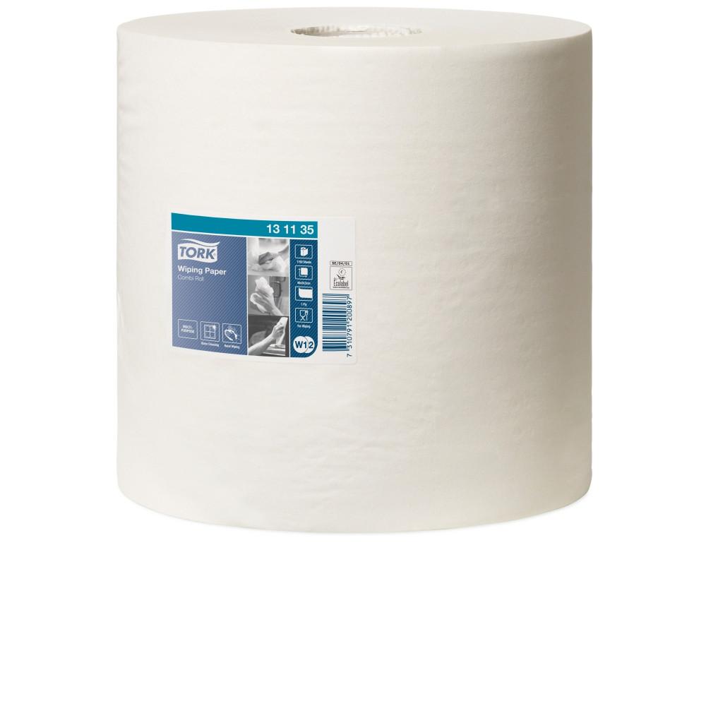 Tork czyściwo papierowe do lekkich zabrudzeń W1/W2