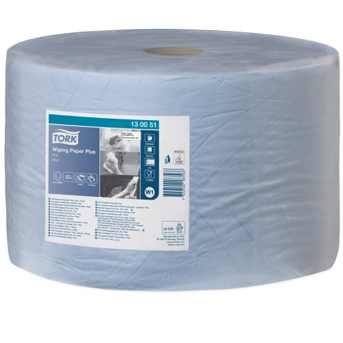 Tork czyściwo papierowe do średnich zabrudzeń W1; EAN13: 7322540183566