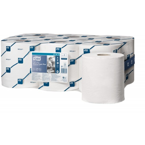 Tork Reflex czyściwo papierowe do średnich zabrudzeń M4; EAN13: 3133200063234