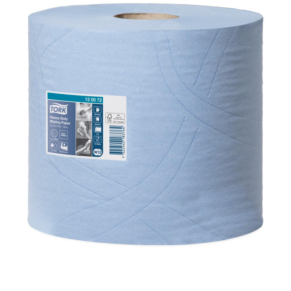 Tork czyściwo papierowe wielozadaniowe do trudnych zabrudzeń W1/W2; EAN13: 7322540183771