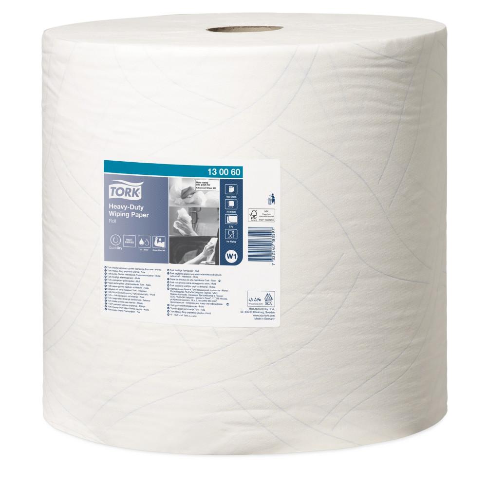 Tork czyściwo papierowe wielozadaniowe do trudnych zabrudzeń W1
