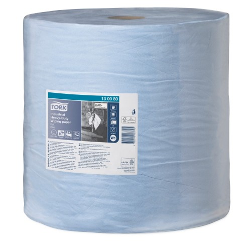 Tork czyściwo papierowe do trudnych zabrudzeń przemysłowych W1; EAN13: 7322540183795