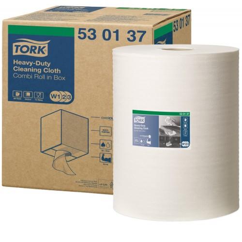 Tork czyściwo włókninowe wielozadaniowe do trudnych zabrudzeń W1/W2/W3; EAN13: 7322540057553