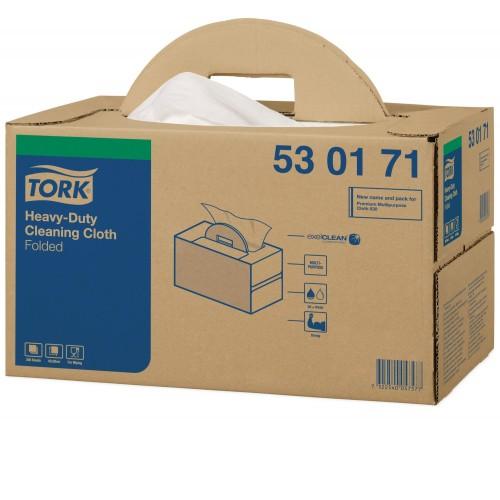 Tork czyściwo włókninowe wielozadaniowe do trudnych zabrudzeń Handy Box; EAN13: 7322540057577