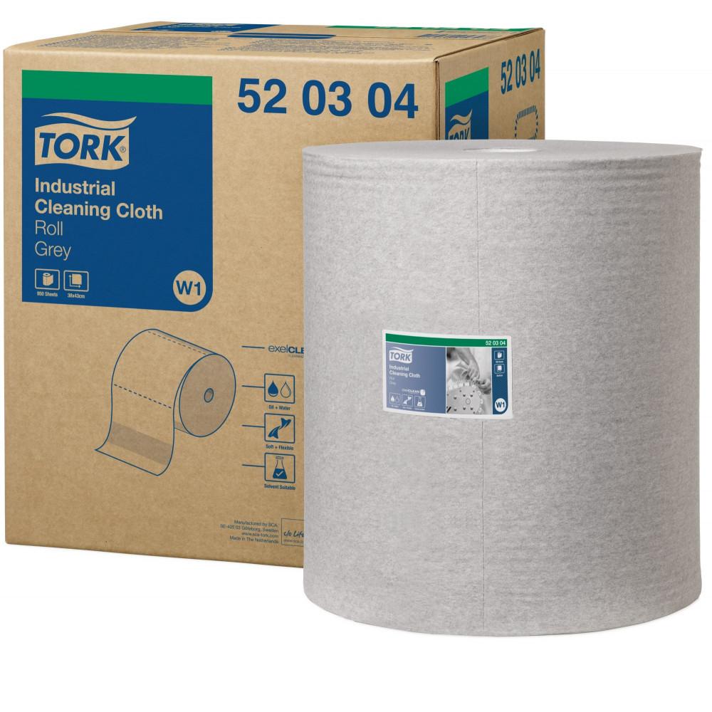 Tork czyściwo włókninowe do zabrudzeń przemysłowych W1; EAN13: 7322540057478