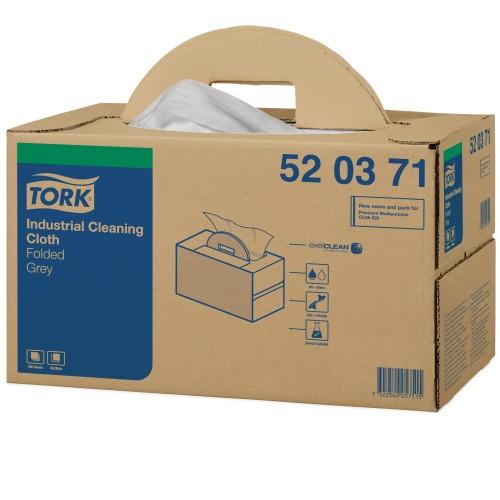 Tork czyściwo włókninowe do zabrudzeń przemysłowych Handy Box; EAN13: 7322540057515