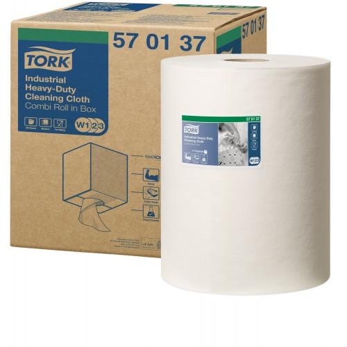 Tork czyściwo włókninowe do trudnych zabrudzeń przemysłowych W1/W2/W3; EAN13: 7322540517002