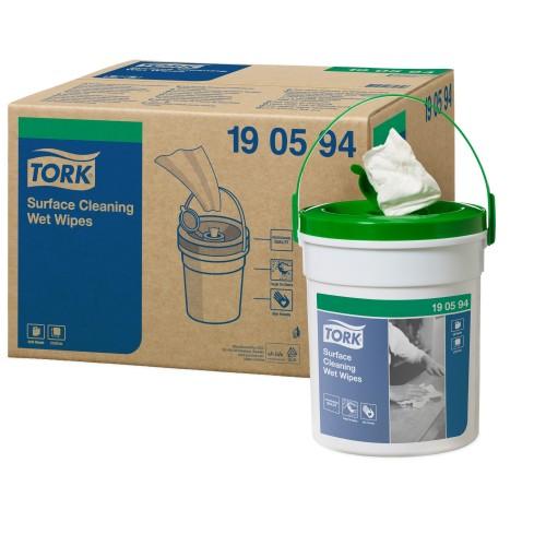 Tork czyściwo włókninowe nasączane do trudnych zabrudzeń powierzchni Handy Bucket; EAN13: 7322540372748