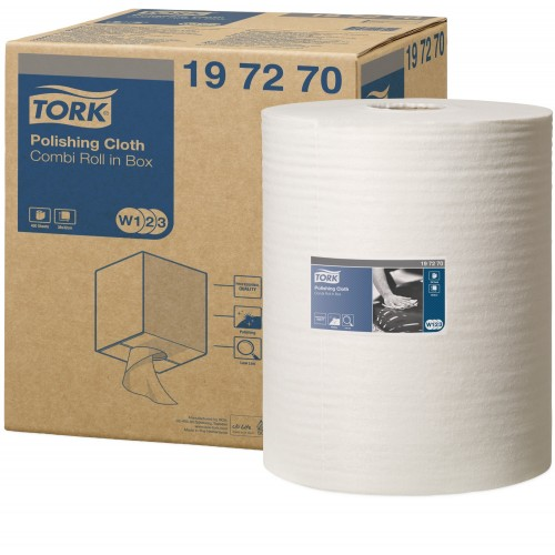 Tork czyściwo włókninowe do polerowania W1/W2/W3; EAN13: 7322540236699