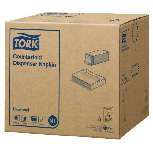 Tork Counterfold biała serwetka dyspenserowa; EAN13: 9011111109057