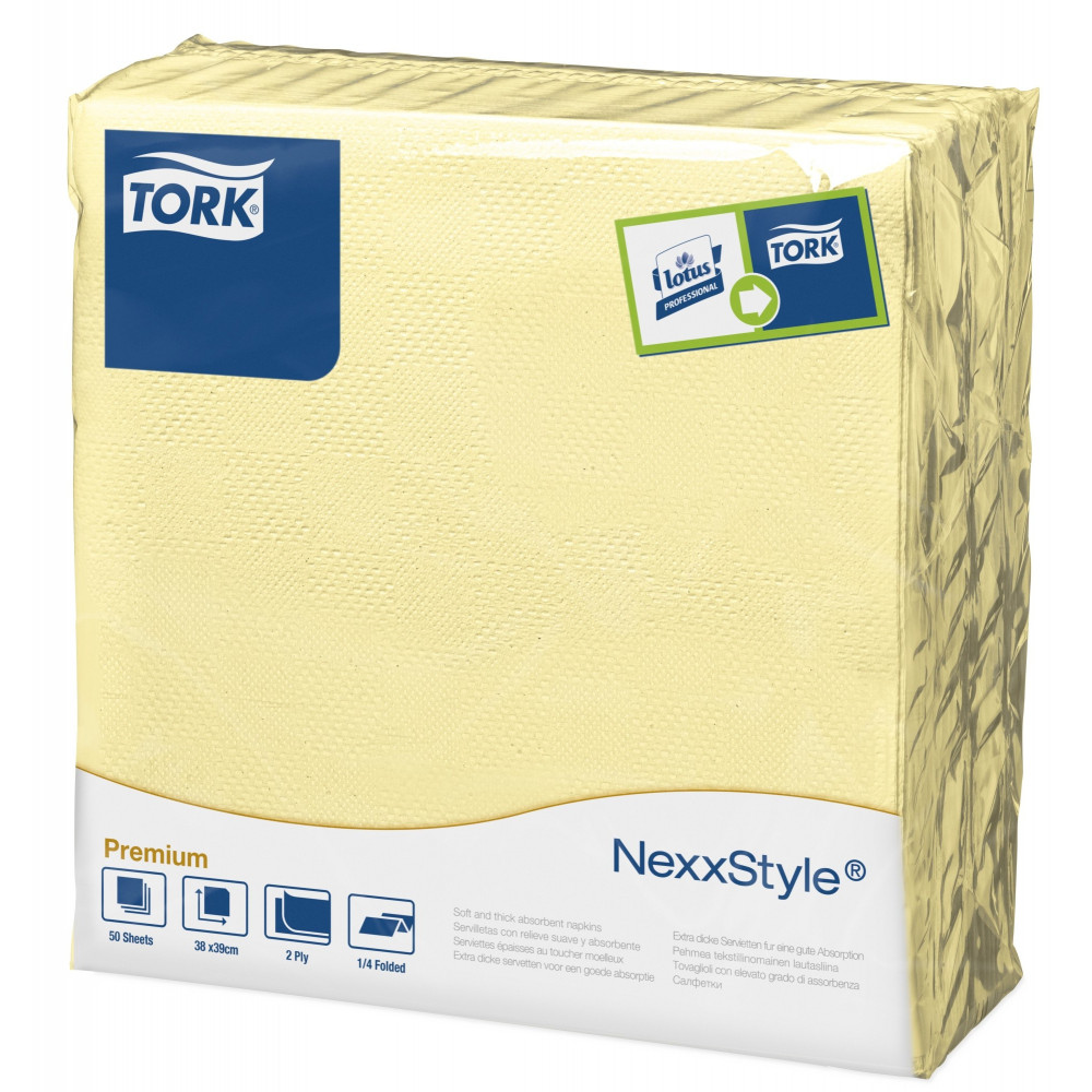 Tork Nexxstyle® szampańska serwetka obiadowa; EAN13: 3133200064903