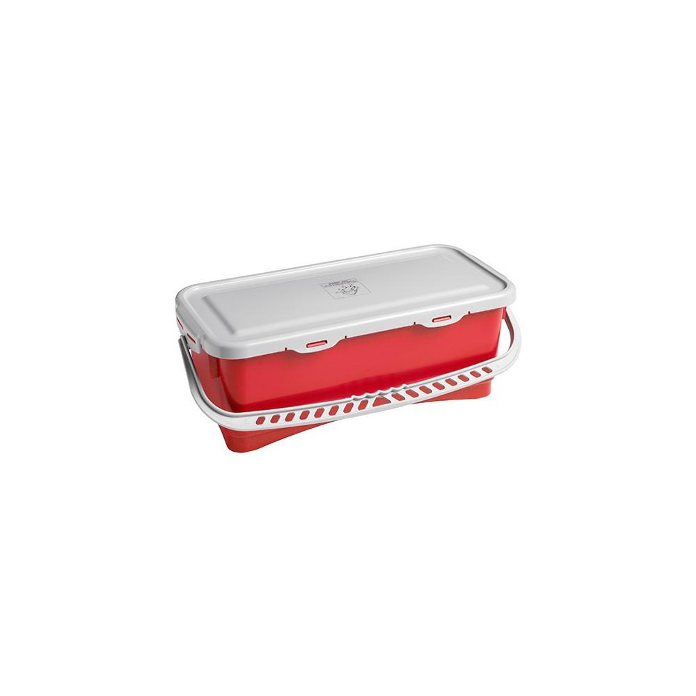 Pojemnik hermetyczny – czerwony 10L