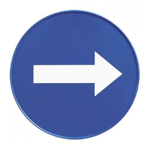 Tablica informacyjna do stojak ostrzegawczego art. S210410 d. 23cm