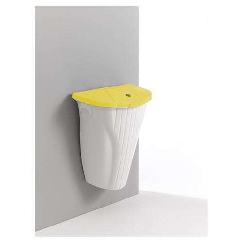 Wall up pojemnik 50l z kolorowa pokrywą bez pedała + śruby
