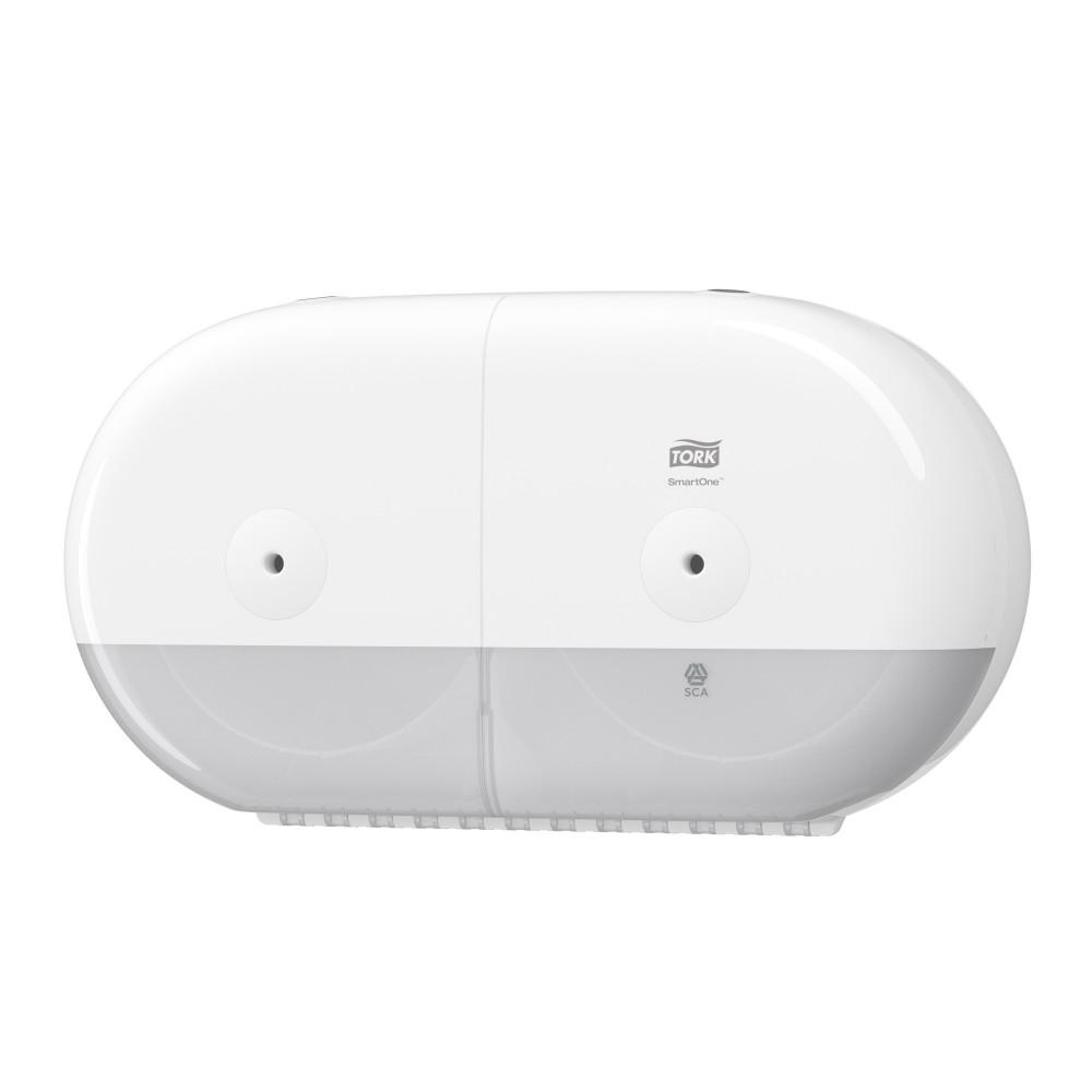 Tork SmartOne® Mini podwójny dozownik do papieru toaletowego w roli; EAN13: 7322540755220