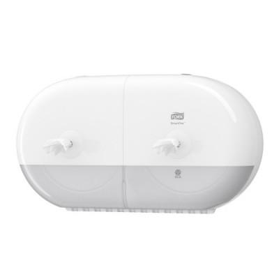 Tork SmartOne® Mini podwójny dozownik do papieru toaletowego w roli