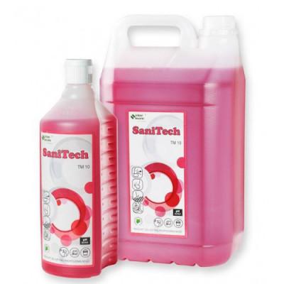 Skoncentrowany preparat do czyszczenia urządzeń sanitarnych