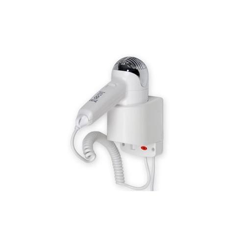 Warmtec Hotelowa suszarka do włosów P3 ABS - biała