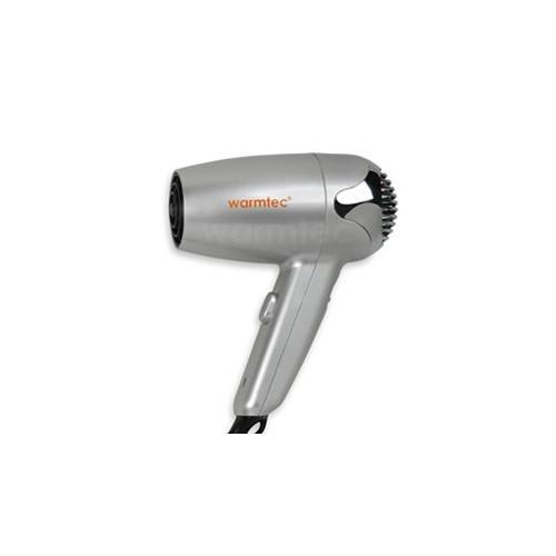 Warmtec Hotelowa suszarka do włosów P2 ABS - srebrna
