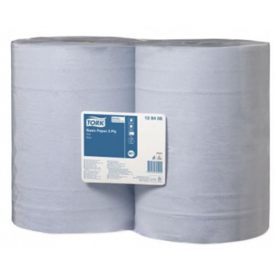 Tork czyściwo papierowe do trudnych zabrudzeń 2-warstwowe 340m